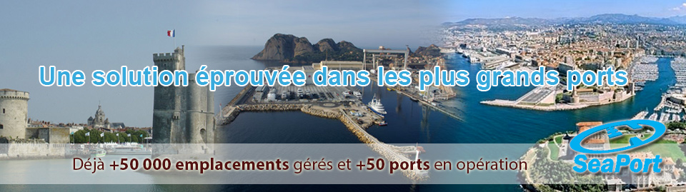 logicel de gestion de port de plaisance SeaPort